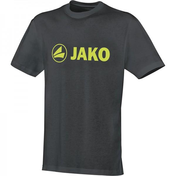 Jako T-Shirt Promo Herren anthrazit/lime 6163-21