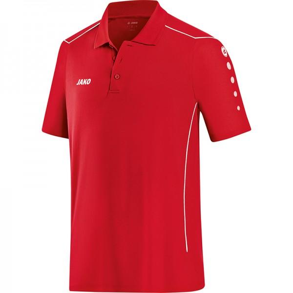Jako Polo Cup Herren rot/weiß 6383-01