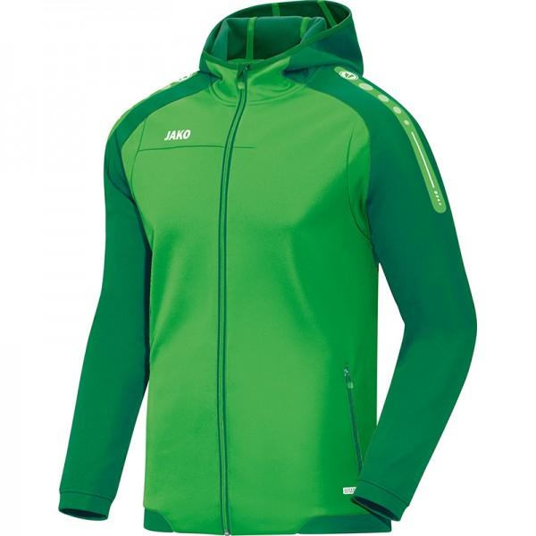 Jako Kapuzenjacke Champ Herren soft green/sportgrün