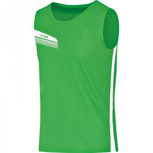 Jako Tank Top Athletico Kinder soft green/weiß 6025-22